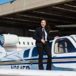 Shaesta sets off on round-the-world flight
