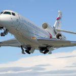 Флагманский самолет Dassault Falcon сертифицирован в России