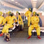 Всі в масках - на борту літаків