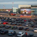 Вільнюс перетворює свій аеропорт в кінотеатр під відкритим небом