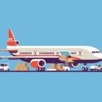 Приватний літак для авіаперевезення вантажів